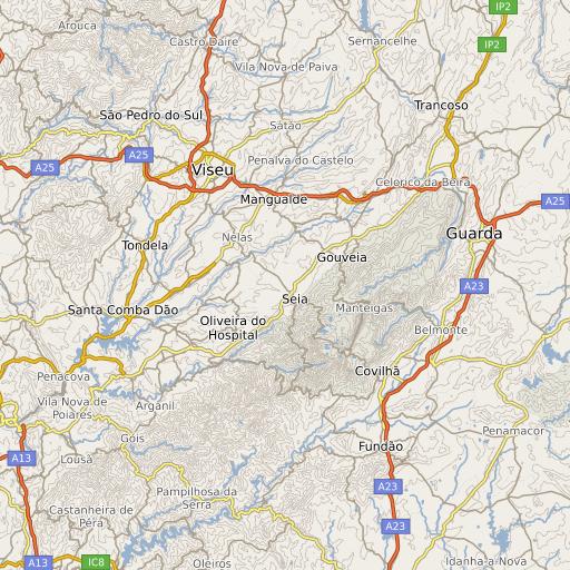 unhais da serra mapa Serra da Estrela | .visitportugal.com unhais da serra mapa